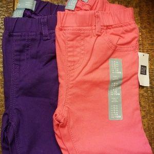 Toddler Gap skinny jeans $15 for both